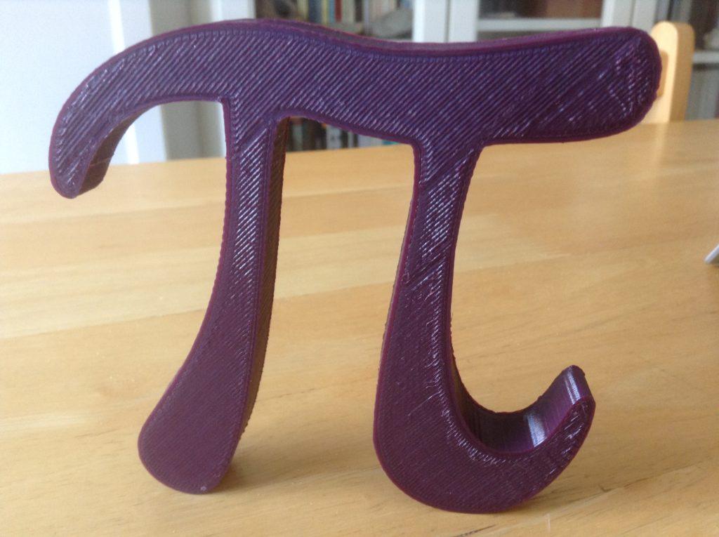 Pi impreso en 3D
