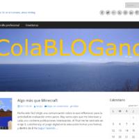 Captura de la página principal del blog ticam.info
