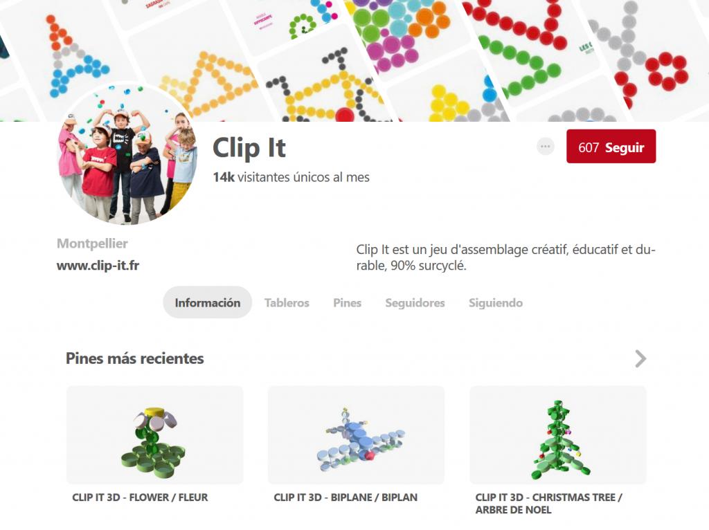Perfil de Clip it en Pinterest