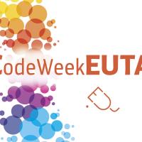 Modificación del logotipo de la semana de programación europea para incluir la palabra Ceuta